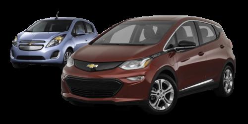 Chevrolet Bolt et Spark