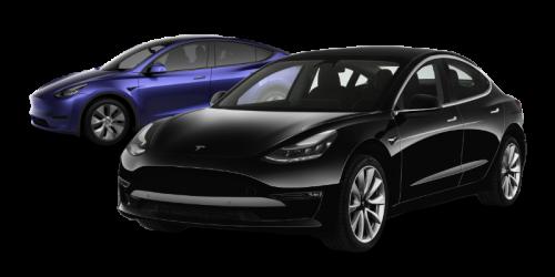 Tesla Model Y et Model 3
